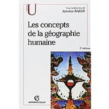 CONCEPTS DE LA GEOGRAPHIE HUMAINE (LES)