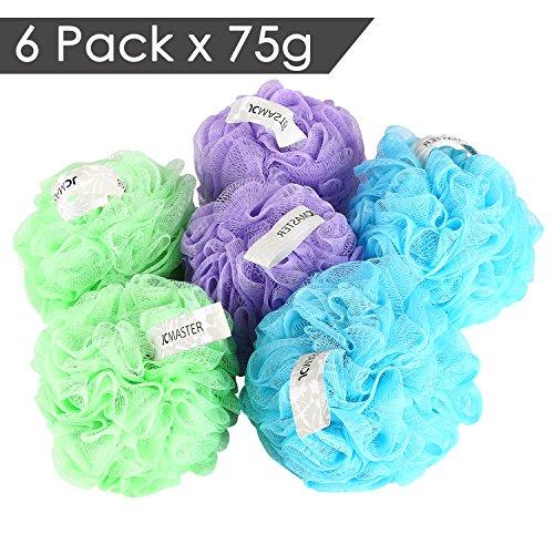 jcmaster-bath-shower-sponge-mesh-pouf-75g-large-shower-sponge-pouf-apply-massive-soapy-6-pack