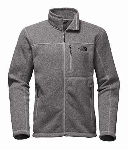The North Face Men's Gordon Lyons Full Zip - TNF Medium Grey Heather - M by The North Face