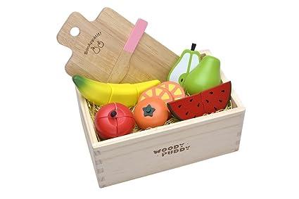 Amazon.com: Woody Puddy frutas juego en una caja: Toys & Games