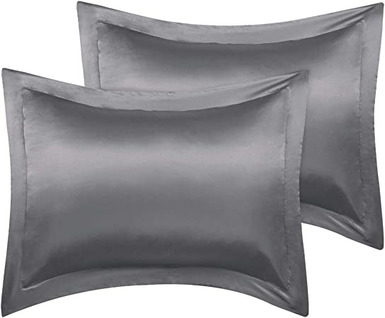 Satin Body Pillow Cover Long Pillowcases Silky Cooling for Hair Skin