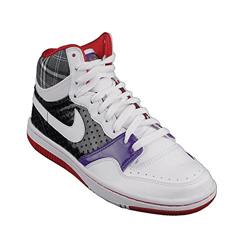Nike Court Force High Le 316117-12 Femme Chaussures Blanc