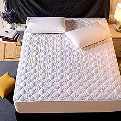 NGLSLL 180 x 200 200 x 220 Funda de colchón de algodón 16 – 25 cm ...