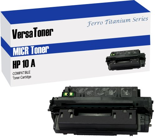 VersaToner - 10A Q2610A MICR Toner Cartridge for Check Printing - Compatible with LaserJet 2300 by VersaToner