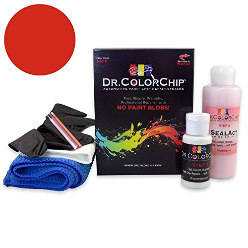 Dr. ColorChip Chevrolet Corvette Automobile Paint - Torch Red 70/WA9075 - Road Rash Kit ()