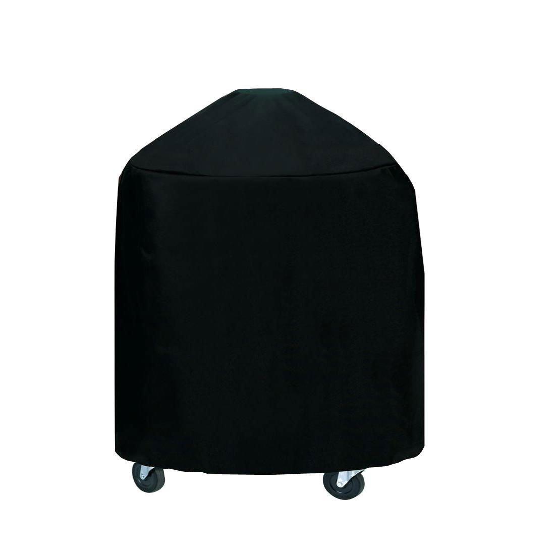Irypulse Funda para Barbacoa Impermeable Anti-polvo Anti-UV Cubierta de Parrilla Velcro con Bolsa de Almacenamiento, para Adaptarse a Variedad de ...