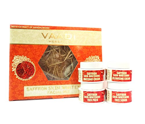 Facial Kit Saffron sandal Sandalwood Lemongrass