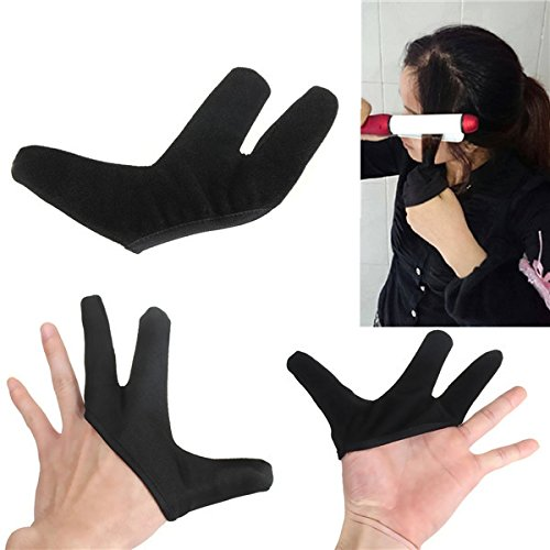 Health & Beauty - Hair Styling Tools - Heat Resistant Finger Glove For Hair Straightener Straightening Curling Hairdressing from Isali Health & Beauty