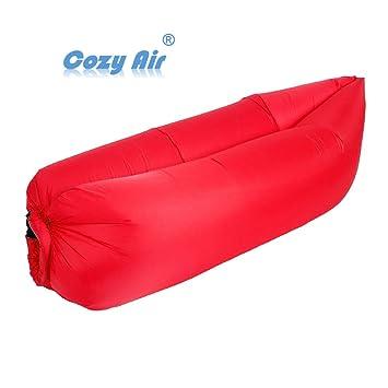 Cozy Air Sofá cama hinchable,Tumbona inflable para playa ...