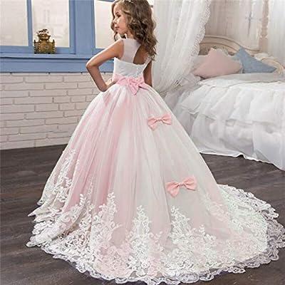 DAJUZI Elegante Vestido de Princesa navideña 6-14 años Vestidos ...
