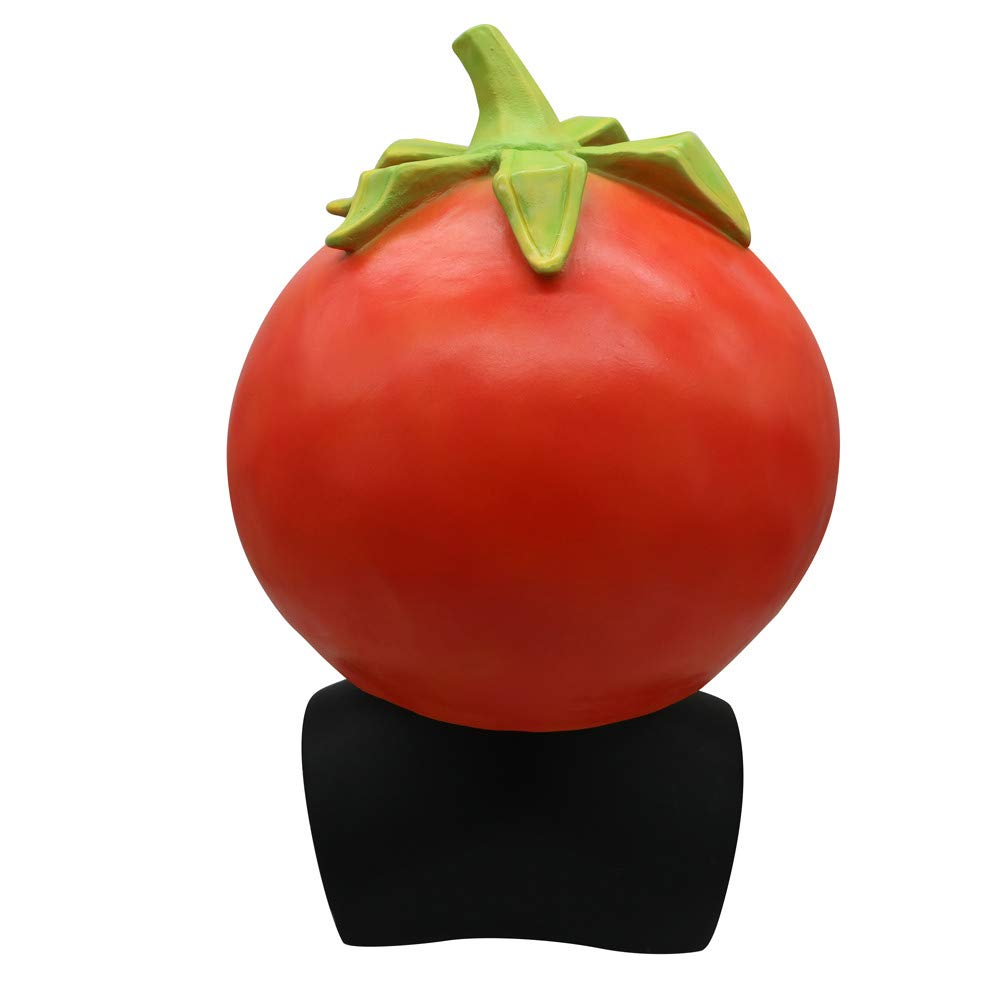 Amazon.com: WeiYun Scary Lifelike Latex Tomato Mask, Simulation Tomato Face  Mask Cool, Cosplay Costume Fancy Party Props Party Favors for Halloween Eve  ...