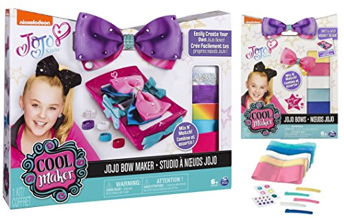 Cool maker Jojo Siwa Bow Maker plus 1 Refill Kit Toy's R Us Exclusive