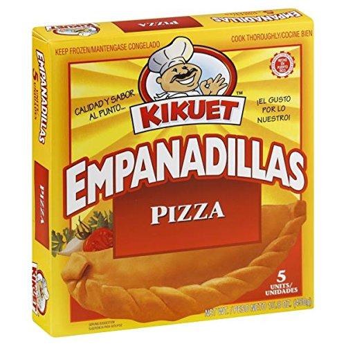 Empanadillas de Pizza KIKUET - Pizza Turnovers - 5 Units Box (Count of 2) -  Century Frozen Foods LLC