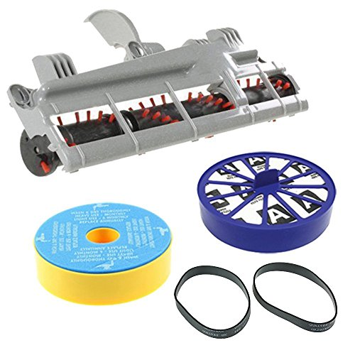 - Spares2go Filter Brushroll & Drive Belt Kit For Dyson Dc07 Vacuum Cleaner