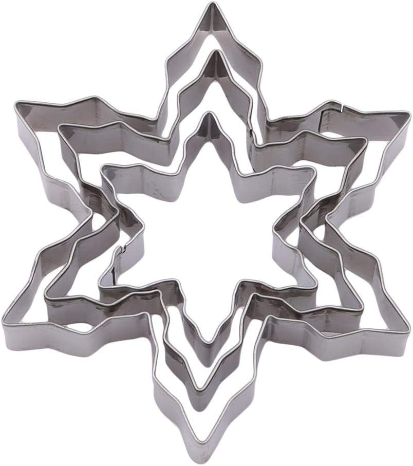 Decor Decorative Tools Biscuit Stainless Steel Cookie Cutter Mold Snowflake