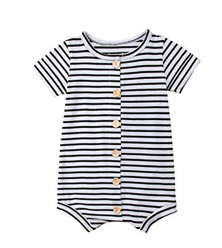 (Urkutoba Baby Girls Romper Knitted Ruffle Long Sleeve Jumpsuit Baby Kids Girl Romper Autumn Winter Casual Clothing (18-24 Months,)
