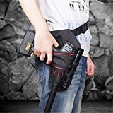 UNKE Drill Electric Cordless Impact Drill Holster Tool Storage Pouch Hold Bag Pockets Reviews