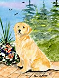 Cheap Caroline's Treasures SS8758CHF Golden Retriever Flag Canvas, Large, Multicolor