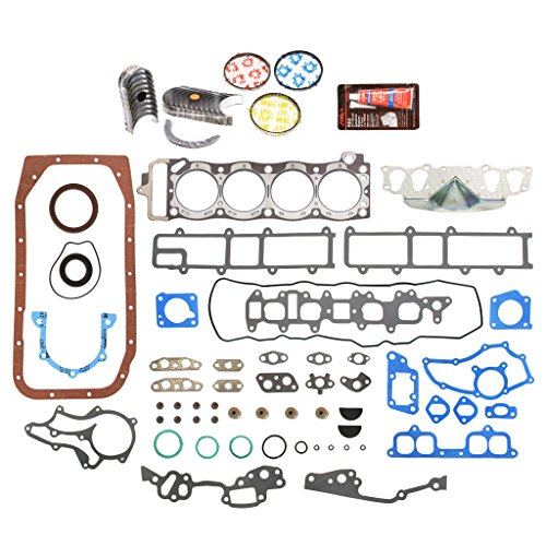 Main Pickup Set Bearing (Evergreen Engine Rering Kit FSBRR2000EVE\0\0\0 Fits 85-95 Toyota 4Runner Pickup Celica 22R 22RE 22REC Full Gasket Set, Standard Size Main Rod Bearings, Standard Size Piston Rings)