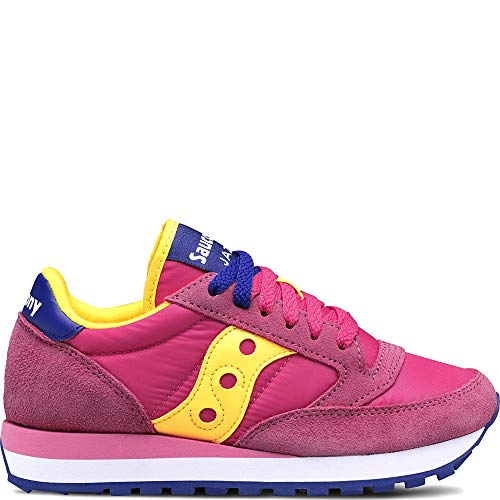 Saucony 1044 533 Pink/Yellow Sneakers Donna