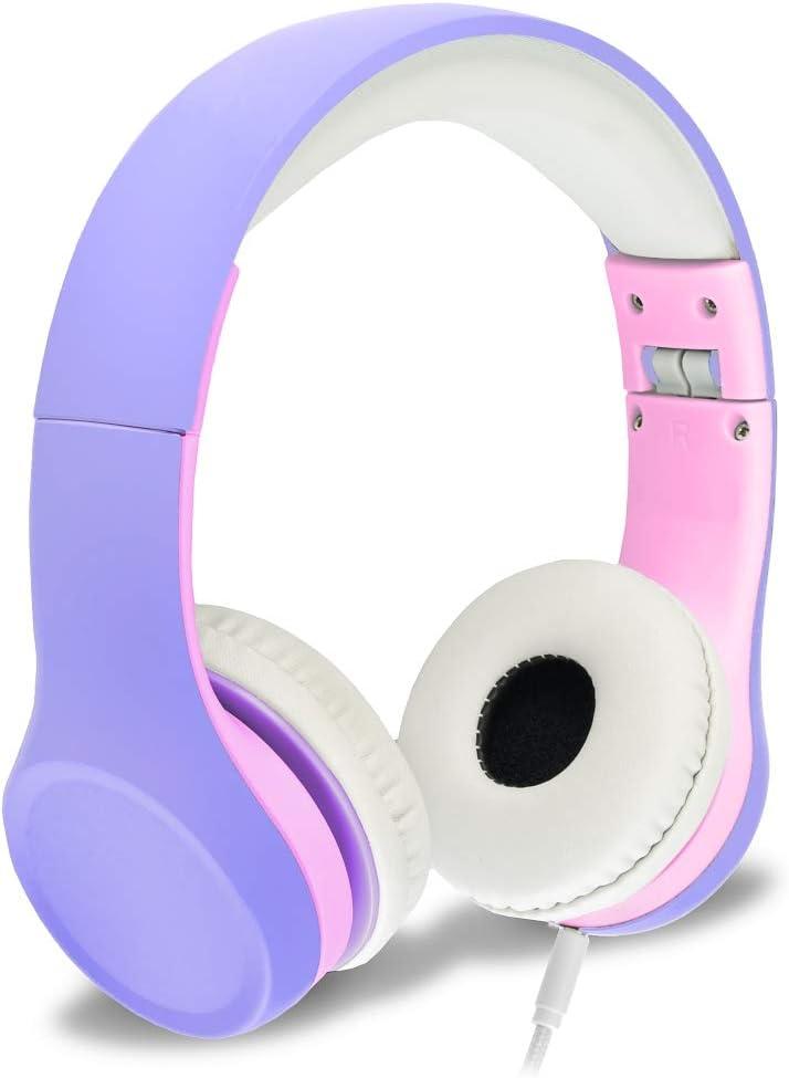 Nenos Headphones Children's Headphones for Kids travel on airplane and train
