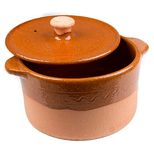 Spanish Clay Pot From Pereruela - 8 qt by Ancient Cookware