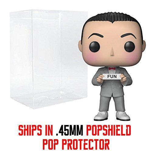 Funko Pop! Pee-Wee's Playhouse - Pee-Wee Herman Vinyl Figure (Bundled with Pop Box Protector Case) ()