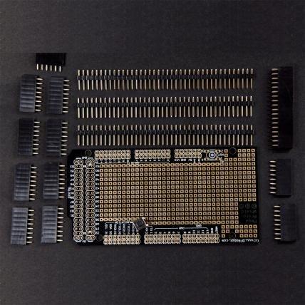 Mega Prototyping Shield For Arduino Mega(Arduino Mega)