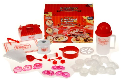 Donut maker Home Sweet Doughnut Decoration Party to make with range (japan import)