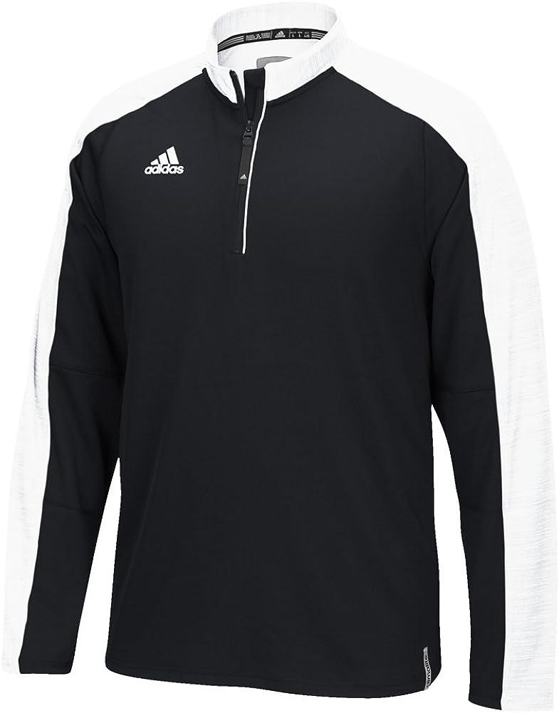 adidas Men's Climalite Modern Varsity 1/4 Zip Jacket