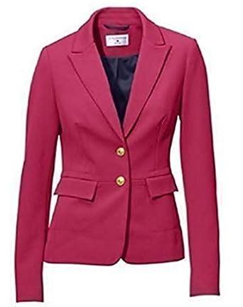 Rick Cardona - Chaqueta de traje - para mujer rosa rosa 42 ...
