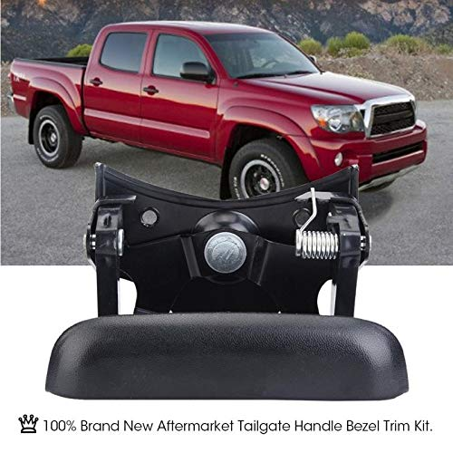Exterior Door Handles Tailgate Handle Bezel Trim Rear Door Handle Switch Kit For Chevy GMC Pickup Truck car accessories accessoire voiture Black from ST_GROUP02