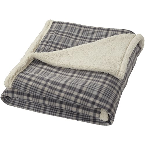 Field & Co. Sherpa Plaid (61.4 x 50 inches) (Grey)