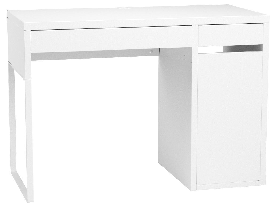 Ikea Escritorio MICKE, Madera, Blanco