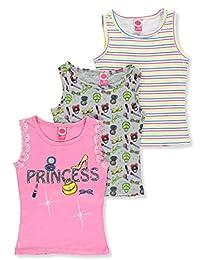 Pink Dot Girls' 3-Pack Tank Tops