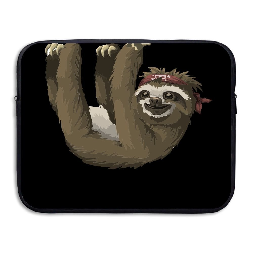ZMvise/ Clambing Sloth Protective Slim Padded Laptop Soft Neoprene Sleeve Bag Case Cover for Notebook iPad Tablet Computer