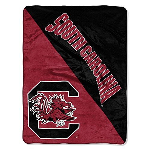 (The Northwest Company Officially Licensed NCAA South Carolina Gamecocks Halftone Micro Raschel Throw Blanket, 46