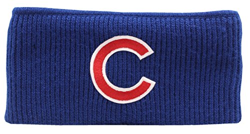Chicago Cubs Blue Knit Earband (Knit Earband)