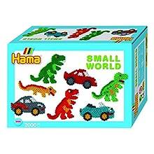 Hama 6373502 Kit de Manualidades para niños - Kits de Manualidades para niños (Pelotas, Plantilla, Niño/niña, Multicolor)