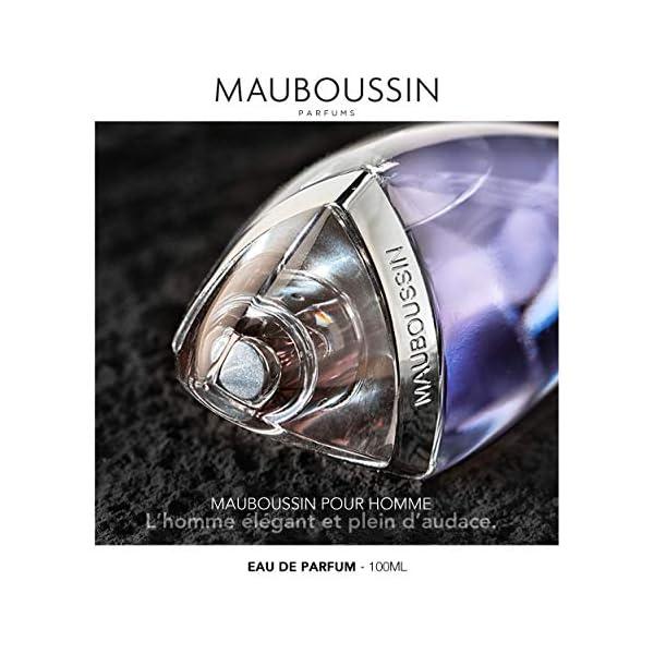 Mauboussin – Eau de Parfum Homme – L'Original Homme – Senteur Boisée & Aromatique – 100ml