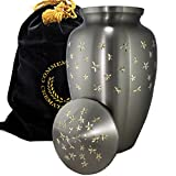 Star Dust Burial or Funeral Adult Cremation Urn for Human Ashes - Adult, Large