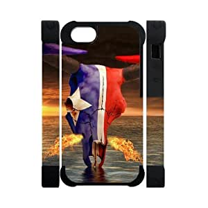 Hoomin Cool Houston Texans iPhone 5 Cell Phone Cases Cover Popular Gifts(Dual protective)