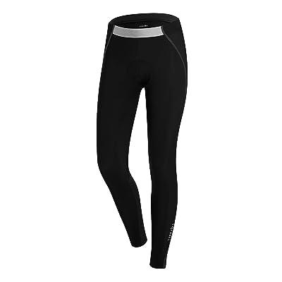 RH+ Spirit W Tight, pantalon (Cyclisme) Femme, Black, L