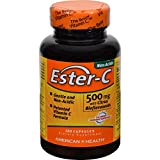 4 Pack of American Health Ester-C with Citrus Bioflavonoids - 500 mg - 120 Capsules - - -