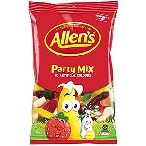 ALLEN'S Party Mix Bulk Bag Lollies, 1kg