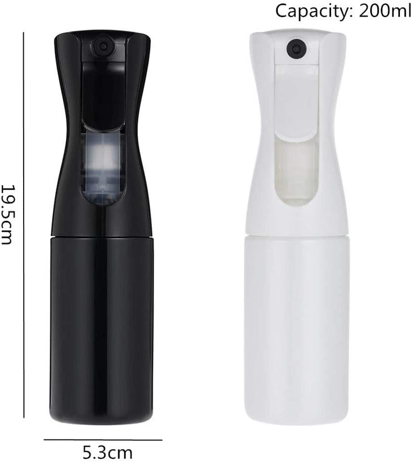yinyinpu Mist Spray Bottle Trigger Spray Bottle Liquid Spray Bottle Continuous Mist Empty Spray Bottle Spray Water Bottle Spray Sprinkle Bottle black Black
