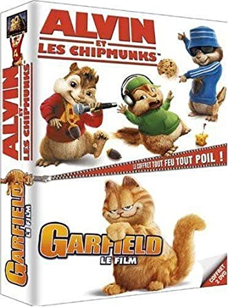 Amazon Com Alvin Et Les Chipmunks Garfield Les Films Coffret 2 Dvd Movies Tv