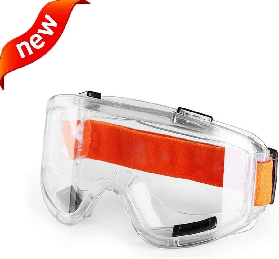 Adesign De Seguridad vidrios claros |Peso Ligero, contra la Niebla, irrompible, sin Marco, visión Amplia, Luminosa transmitancia, la protección de partículas Resistente a los Impactos
