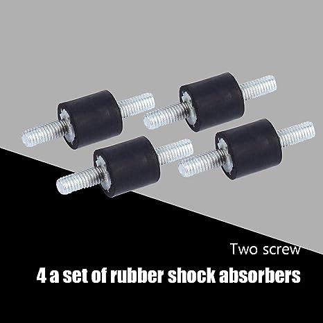 Silentblock, 4 piezas de Amortiguador Antivibracion de Goma (M3 8 ...