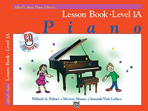 - Alfred's Basic Piano Library Lesson Book, Bk 1A: Book & CD